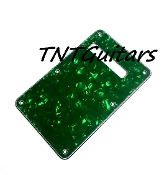 Strat Trem Cover, Green Pearl