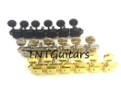 Vintage Tuners, 6 Inline Tuning Machines Split Post Color Choice