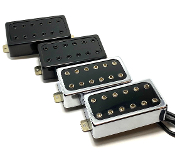 Dragonfire Dirty Luv Humbuckers ~ Half-Covered AlNiCo Pickups, Unique Presentation & Sound Scale, Attractive Styling, Premium Versatility & Adjustability w/ Exposed Hex Screw Style Polepieces, Moderately Wound, Choice of Colors…